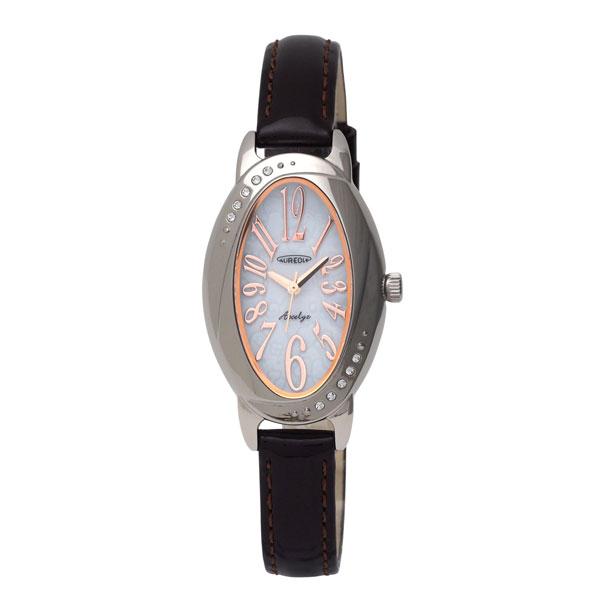 【AUREOLE】オレオール レディース腕時計 SW-583L-4 アナログ表示 ソーラー 日常生活用防水 /5点入り(代引き不可)