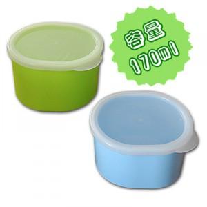 小さ目で使いやすい、シールフタ付きのケースです。 ちょいパックM(日本製) グリーン/200点入り(代引き不可)
