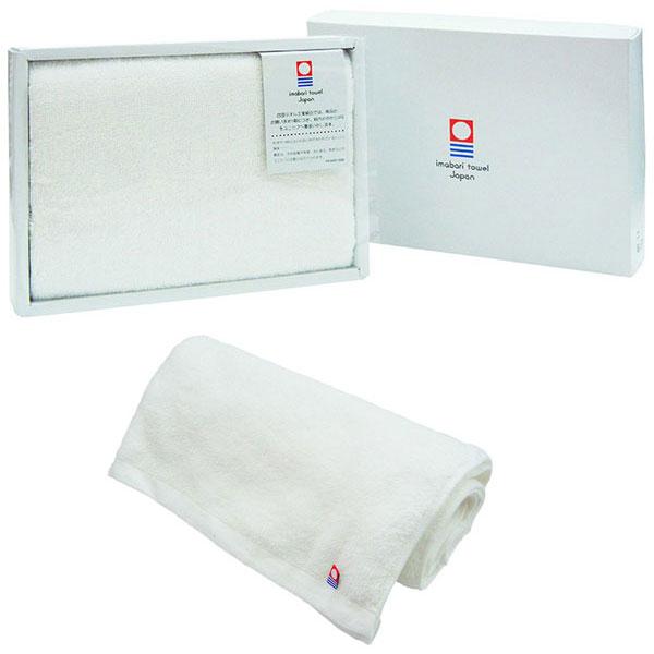 今治産タオル バスタオル オフホワイト (1000匁パイル)ギフト箱入り 日本製 /50点入り(代引き不可)