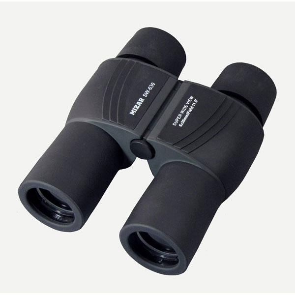 【MIZAR-TEC】ミザールテック 6倍30ミリ口径 コンパクトスーパーワイド双眼鏡SW-630 /5点入り(代引き不可)