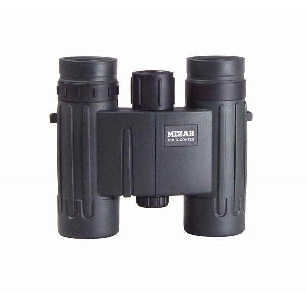 【MIZAR-TEC】ミザールテック 8倍25ミリ口径 ダハプリズム式 双眼鏡SDW-80ブラック /10点入り(代引き不可)