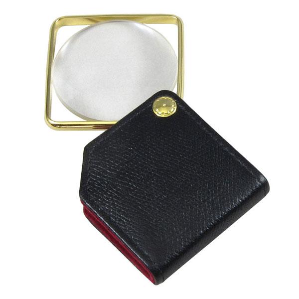 【MIZAR-TEC】ミザールテック ポケットルーペ 倍率3.5倍 レンズ径50mm ブラック 日本製 RK-650 /10点入り(代引き不可)