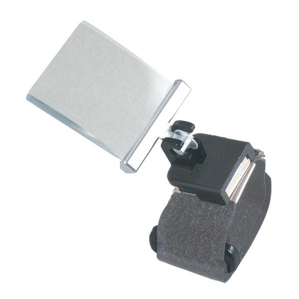 【TSK】指用ルーペ 倍率2.5倍 レンズ径27×32mm マジックテープバンド 日本製 RX-7B /100点入り(代引き不可)