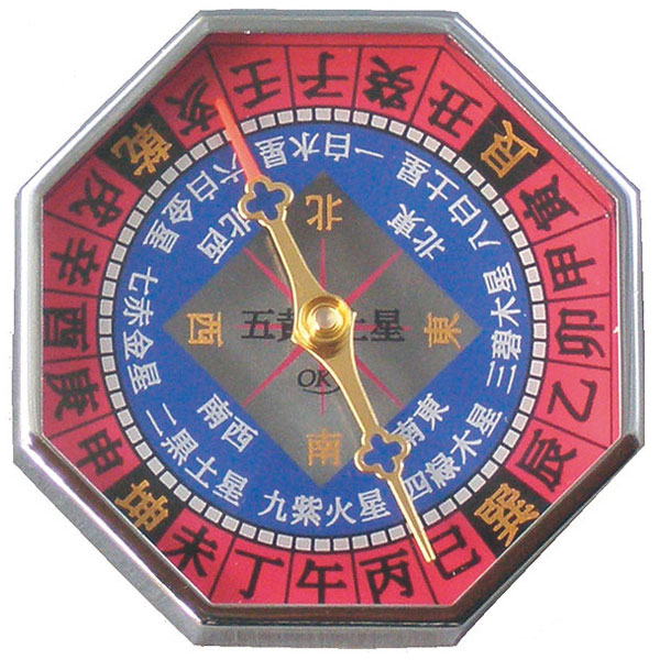 【MIZAR-TEC】ミザールテック 風水コンパス ドライタイプ 日本製 GF-803 /10点入り(代引き不可)