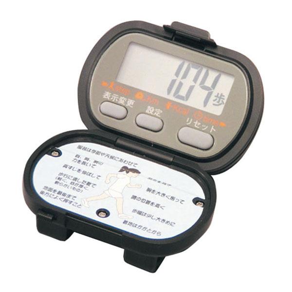 【SPALDING】スポルディング デジタル歩数計 高輝度LEDライト付 ブラック NO3700BK /10点入り(代引き不可)【S1】