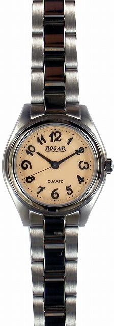 【ROGAR】ローガル レディース腕時計 RO-026L-PS 10気圧防水(日本製) /5点入り(代引き不可)