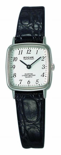 【ROGAR】ローガル レディース腕時計 RO-031LS 銀製品 日常生活用防水(日本製) /5点入り(代引き不可)