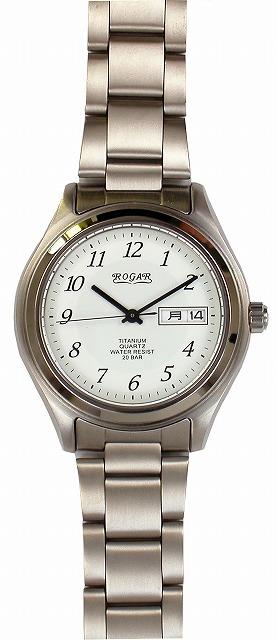 【ROGAR】ローガル メンズ腕時計 RO-040MS 20気圧防水(日本製) /5点入り(代引き不可)