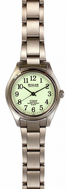 【ROGAR】ローガル レディース腕時計 RO-040L-RS 10気圧防水(日本製) /5点入り(代引き不可)