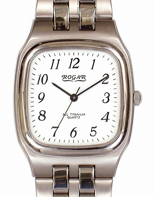 【ROGAR】ローガル メンズ腕時計 RO-052M-WS 日常生活用防水(日本製) /10点入り(代引き不可)【ポイント10倍】
