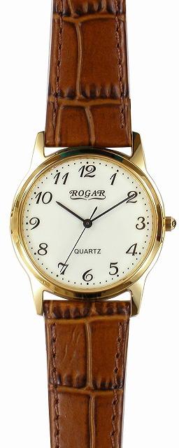 【ROGAR】ローガル メンズ腕時計 RO-055MA-S5 日常生活用防水(日本製) /5点入り(代引き不可)