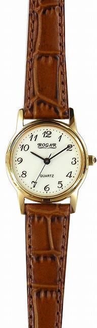 【ROGAR】ローガル レディース腕時計 RO-055LA-S5 日常生活用防水(日本製) /10点入り(代引き不可)