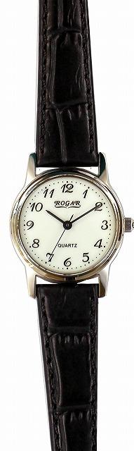 【ROGAR】ローガル レディース腕時計 RO-055LB-S1 日常生活用防水(日本製) /5点入り(代引き不可)