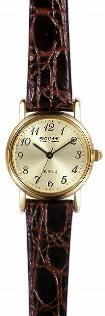 【ROGAR】ローガル レディース腕時計 RO-060LA-05 日常生活用防水(日本製) /5点入り(代引き不可)