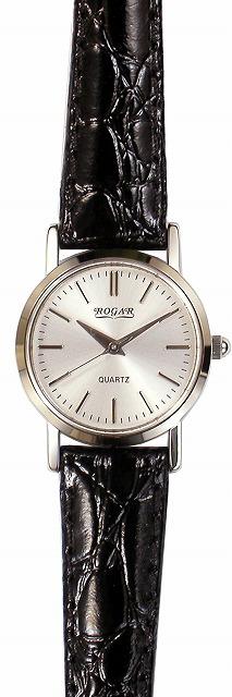 【ROGAR】ローガル レディース腕時計 RO-060LB-B1 日常生活用防水(日本製) /10点入り(代引き不可)