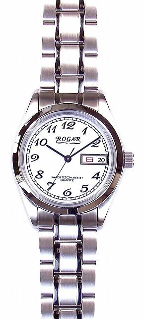 【ROGAR】ローガル メンズ腕時計 RO-064MB-S 10気圧防水(日本製) /1点入り(代引き不可)