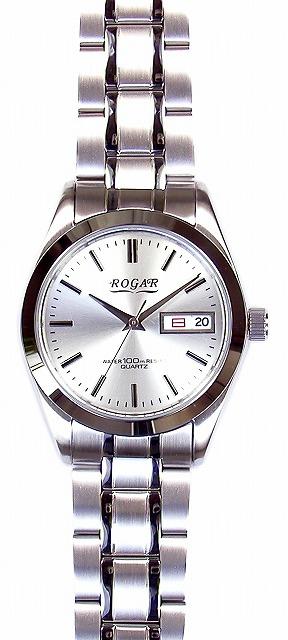 【ROGAR】ローガル メンズ腕時計 RO-064MB-B 10気圧防水(日本製) /10点入り(代引き不可)