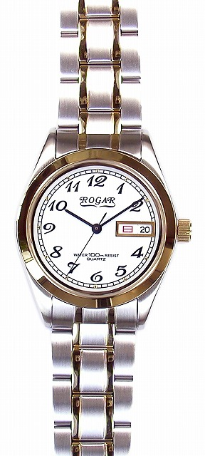 【ROGAR】ローガル メンズ腕時計 RO-064MC-S 10気圧防水(日本製) /1点入り(代引き不可)
