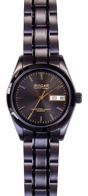 【ROGAR】ローガル メンズ腕時計 RO-064MA-S 10気圧防水(日本製) /1点入り(代引き不可)