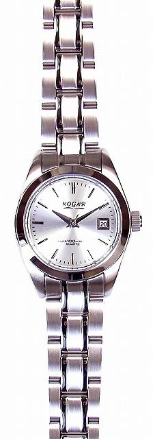 【ROGAR】ローガル レディース腕時計 RO-064LB-B 10気圧防水(日本製) /10点入り(代引き不可)