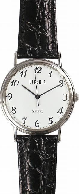 【LIBERTA】リベルタ メンズ腕時計 LI-030MB-01 日常生活用防水(日本製) /5点入り(代引き不可)