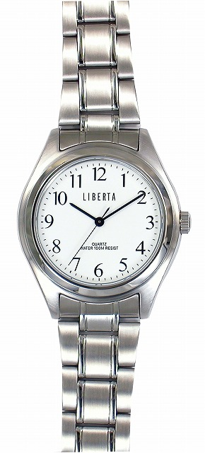 【LIBERTA】リベルタ メンズ腕時計 LI-032M-WS 10気圧防水(日本製) /10点入り(代引き不可)