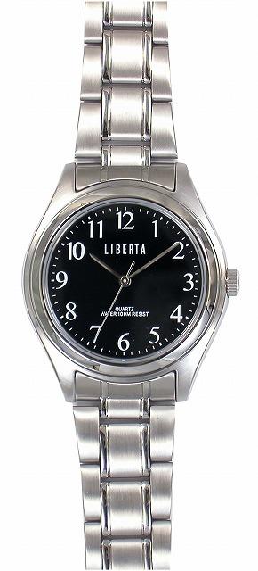 【LIBERTA】リベルタ メンズ腕時計 LI-032M-BS 10気圧防水(日本製) /10点入り(代引き不可)