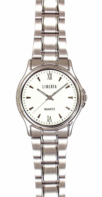 【LIBERTA】リベルタ メンズ腕時計 LI-036MW 日常生活用防水(日本製) /5点入り(代引き不可)