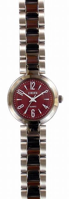 【LIBERTA】リベルタ レディース腕時計 LI-037LR 日常生活用防水(日本製) /10点入り(代引き不可)
