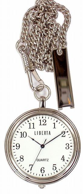 【LIBERTA】リベルタ ポケットウォッチ LI-042B 日常生活用防水(日本製) /10点入り(代引き不可)