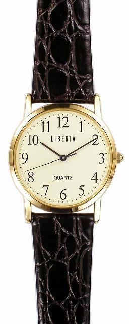 【LIBERTA】リベルタ メンズ腕時計 LI-044MA-05 日常生活用防水(日本製) /10点入り(代引き不可)
