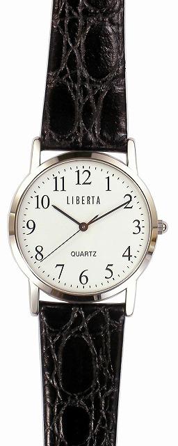 【LIBERTA】リベルタ メンズ腕時計 LI-044MB-01 日常生活用防水(日本製) /10点入り(代引き不可)