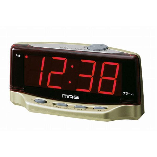 LEDデジタル目覚し時計 T-617 デジラク /20点入り(代引き不可)