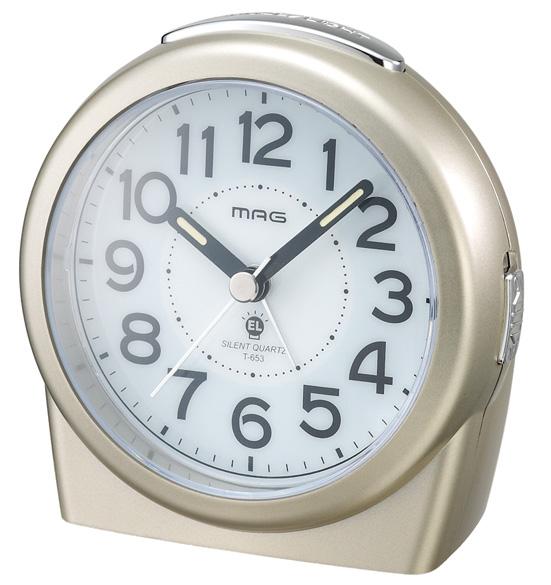 常時点灯目覚し時計 T-653 ジャックポケットDX /48個入り(代引き不可)