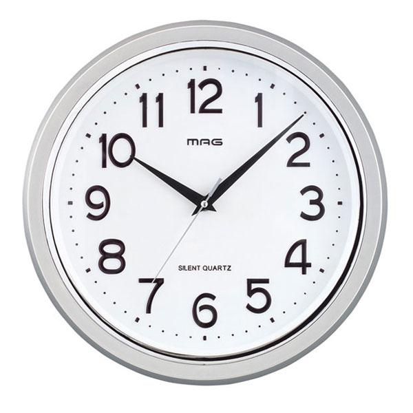掛時計 W-524 THEマグ ブラック/12点入り(代引き不可)【送料無料】