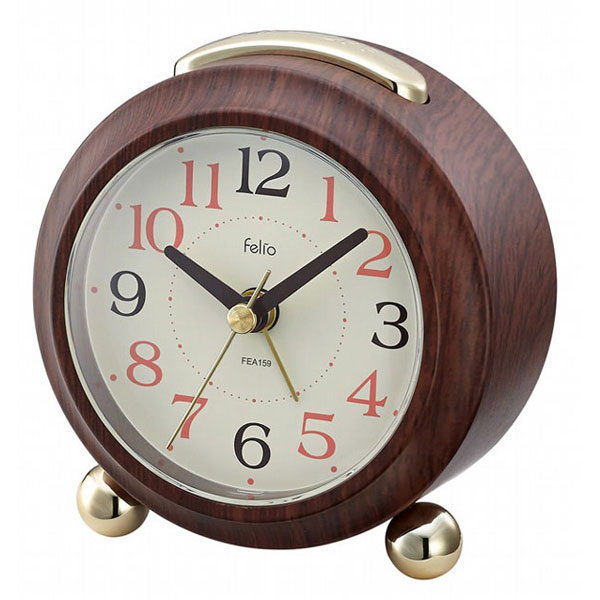置時計 FEA159 マコーレ ブラウン/60点入り(代引き不可)