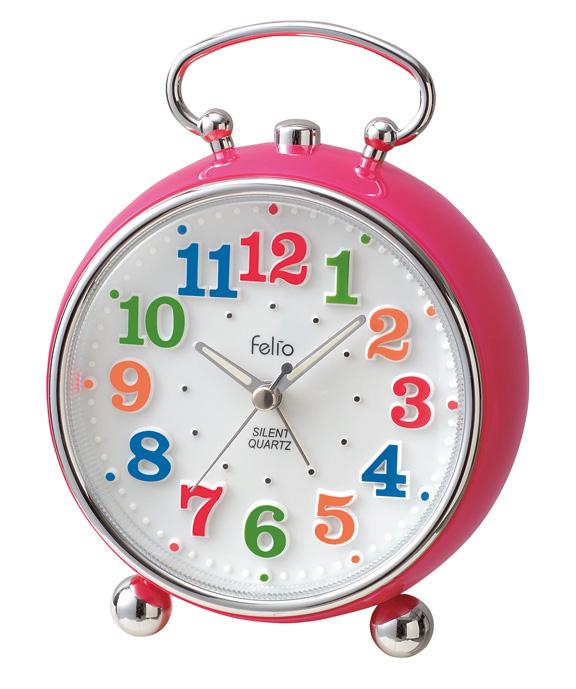 置時計 FEA149 トイクロック ピンク/36点入り(代引き不可)