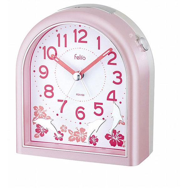 置時計 FEA150 NEWドルフ ホワイト/36点入り(代引き不可)