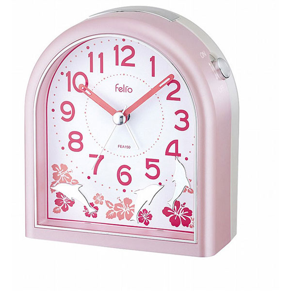 置時計 FEA150 NEWドルフ ピンク/36点入り(代引き不可)