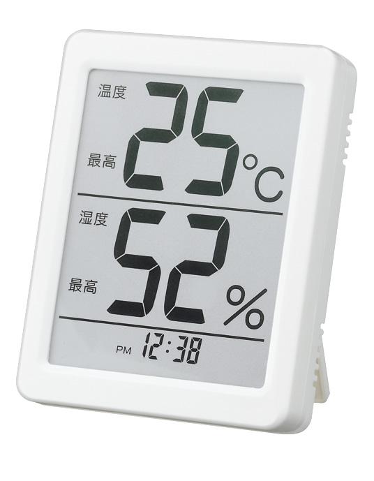 温度湿度計 N-007でか文字温度湿度計 /48点入り(代引き不可)