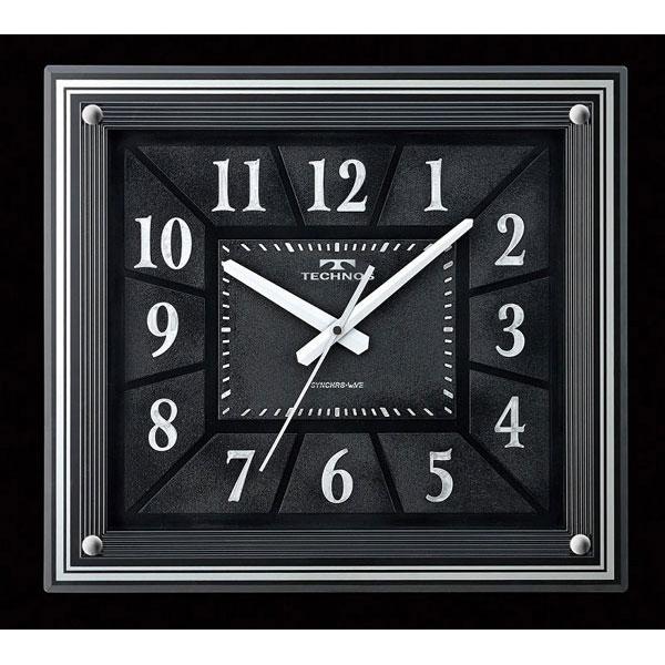 【TECHNOS】国内版権 テクノス 電波掛時計 W-613 /5点入り105(代引き不可)