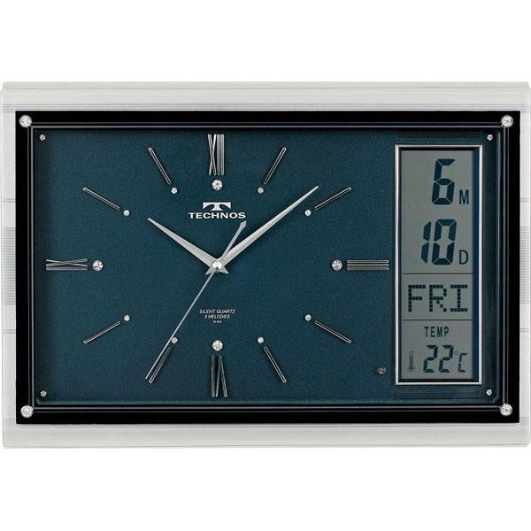 【TECHNOS】国内版権 テクノス 掛時計 W-540 /5点入り(代引き不可)