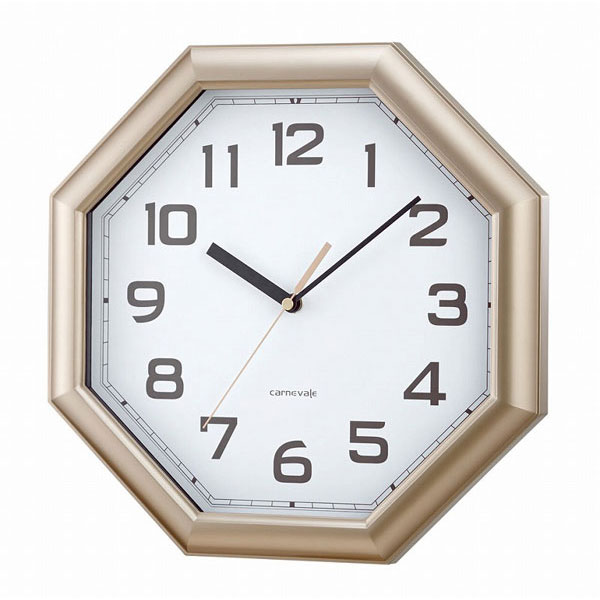 連続秒針 掛時計W-557 オルソン /12点入り(代引き不可)