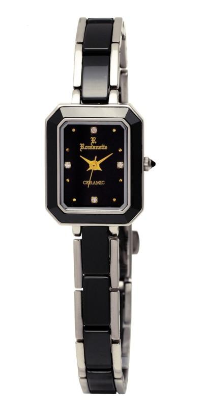 【ROMANETTE】ロマネッティ レディース腕時計 RE-3527L-1 アナログ表示 日常生活用防水 /1点入り(代引き不可)