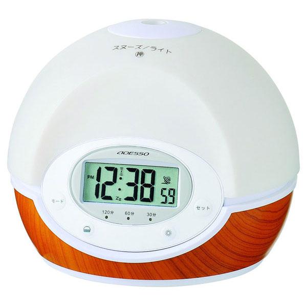 アロマディフューザー電波時計 C-8351 アロマディフューザー電波時計 C-8351/10点入り(代引き不可)