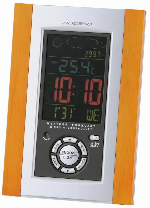 電波時計(天気予報機能つき) C-8211 電波時計(天気予報機能つき) C-821/120点入り(代引き不可)