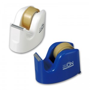 テープカッター ミニオン・テープカッター(日本製) ミニオン・テープカッター ブルー/160点入り(代引き不可)