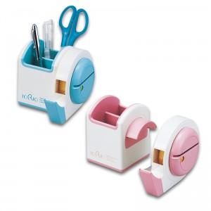 テープカッター付マルチスタンド トリオ(日本製) トリオ ピンク/40点入り(代引き不可)