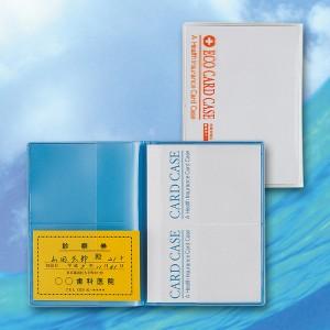 エコカードケース(日本製) エコカードケース(アソート)・クリア/160点・ブルー/160点(代引き不可)