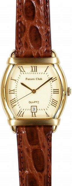 【Future Club】フューチャークラブ メンズ腕時計 FC-026M-R5 日常生活用防水(日本製) /5点入り(代引き不可)